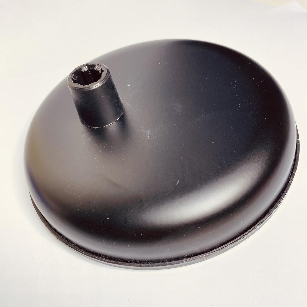 Підставка основа для настільної лампи, чорна