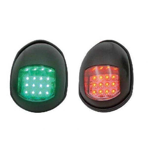 Ходові вогні LED чорні 88х61мм HF65-780