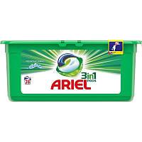 Капсули для прання Ariel 3в1 28 шт білого білизни