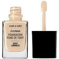 Тональная основа Wet n Wild Photo Focus Dewy Foundation Nude Ivory