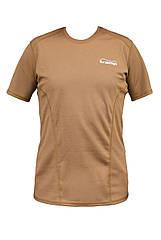 Термо футболка CoolMax Tramp черный TRUF-004-coyot