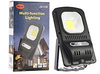 Светильник с солнечной панелью и датчиком движения Multi-function lighting JX-118, фото 1