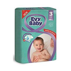 Підгузки Evy Baby 3 (5-9кг), 68шт