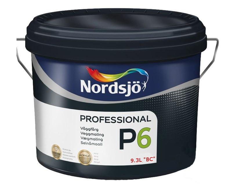 Краска акриловая SADOLIN PRO P6 интерьерная транспарентная (база ВC) 9,3л