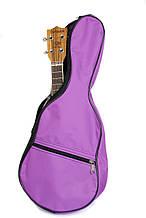 Стильный чехол для укулеле, light-violet 58*23*8 (сопрано)
