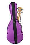 Стильний чохол для укулеле, light-violet 58*23*8 (сопрано), фото 2
