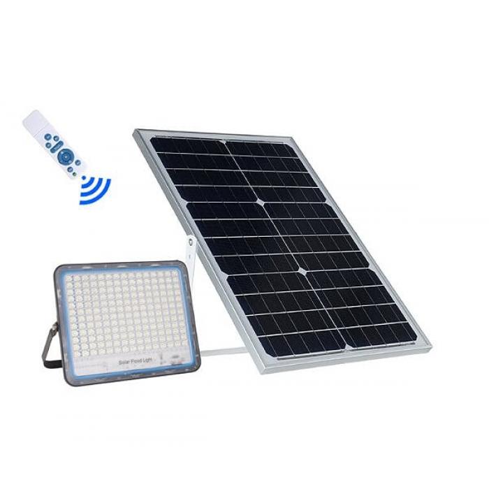 Прожектор на солнечных батареях Solar Light 300W уличный с пультом