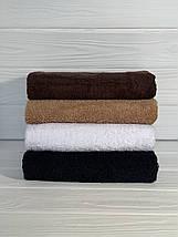 Отельное полотенце темный кофе 50х90, фото 3