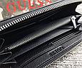 Мужской кожаный кошелек Guess (1860) black, фото 2