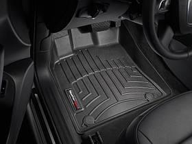 Ковры резиновые WeatherTech Audi Q5 2009-2017 передние черные