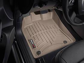 Ковры резиновые WeatherTech  Audi Q5 2009-2017 передние бежевые