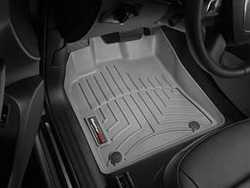 Ковры резиновые WeatherTech  Audi Q5 2009-2017 передние серые