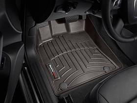 Ковры резиновые WeatherTech  Audi Q5 2009-2017 передние какао