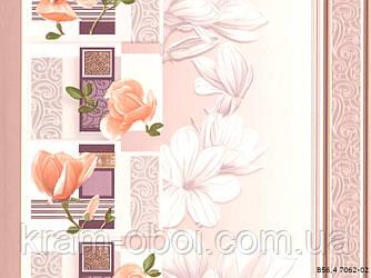 Шпалери Слов'янські Шпалери КФТБ прості паперові миються 10м*0,53 9В56 Суланжа 7062-02