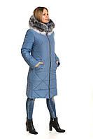 Женская куртка зимняя стильная Украина размеры 42-60