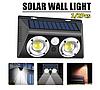 Светильник с солнечной панелью и датчиком движения Solar Powered Led Wall Light LF-1625