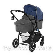 Универсальная коляска 2 в 1 Kinderkraft Juli Denim (KKWJULIDEN2000)
