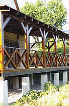 Деревянная терраса для дома