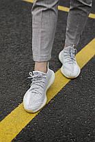 "Кроссовки Adidas Yeezy Boost 350 Yeshaya ""Серые"", фото 2"
