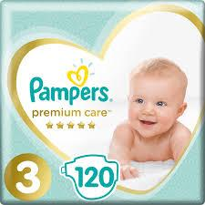 Подгузники Pampers Premium Care 3 ( 120 шт/ 6-10 кг)