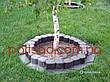 Палісад Газонний світло-коричневий 2,1 метра - декоративний садовий бордюр Palisada MIDI Plus (Польща), фото 4