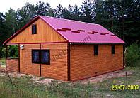 Дачний будинок під ключ (Блок-хаус) / Дачный дом под ключ / Загородный дом