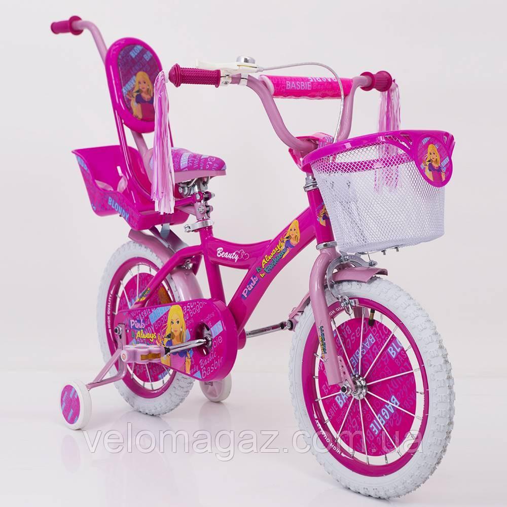 "Дитячий велосипед SIGMA ""BEAUTY-1"" 19ВВ01-16"" Рожевий"