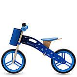 Беговел Kinderkraft Runner Galaxy Blue (KKRRUNGBLU00AC), фото 2