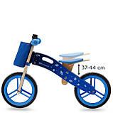 Беговел Kinderkraft Runner Galaxy Blue (KKRRUNGBLU00AC), фото 7