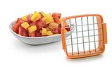 Набор для быстрого нарезания Nicer Dicer Quick 5 в 1 с контейнером овощерезка, яйцерезка Найсер Дайсер, фото 3