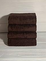 Полотенце для отелей темно - синее 50х90, фото 2