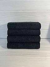 Полотенце для отелей темно - синее 50х90, фото 3
