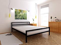 Металеве ліжко Анжеліка односпальне 80х190 см, ортопедична