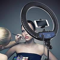 """Кольцевая  лампа с зеркалом и  штативом RL-18"""""""