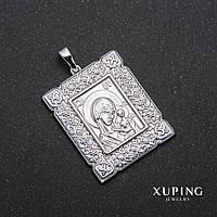 Кулон Xuping иконка родий 29х35х45мм