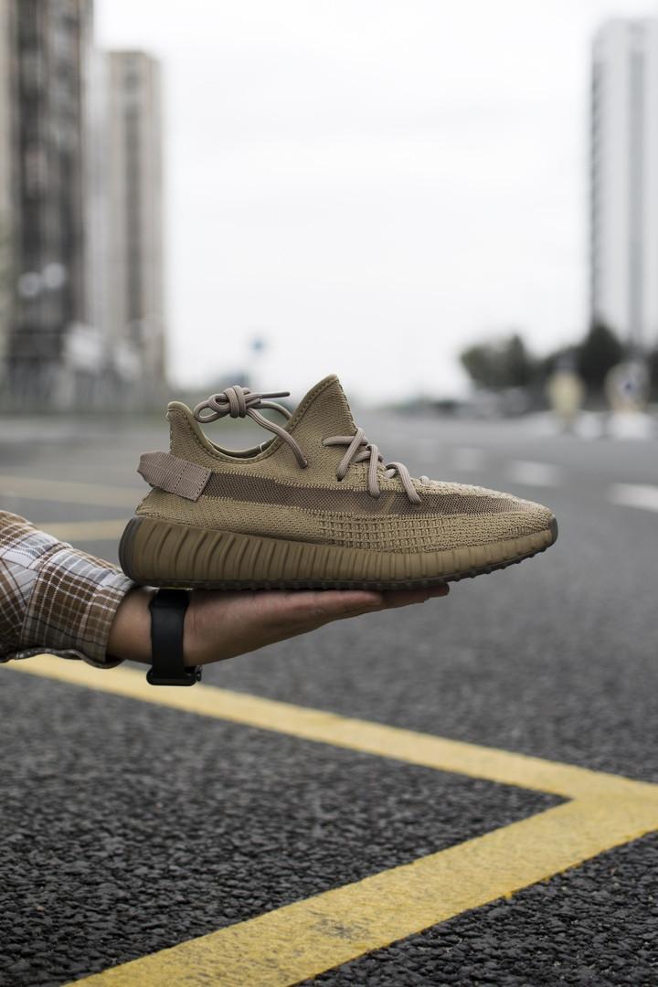 """Кроссовки Adidas Yeezy Boost 350 Earth """"Коричневые"""""""