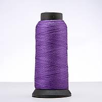 Нитка светло фиолетовая d-0.6мм капроновая для рукоделия