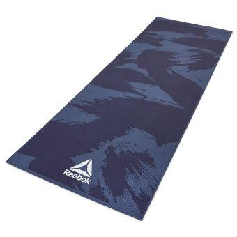 Коврик для йоги Reebok RAYG-11030BR 4 мм синий  (ФИТНЕС)