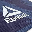 Коврик для йоги Reebok RAYG-11030BR 4 мм синий  (ФИТНЕС), фото 4