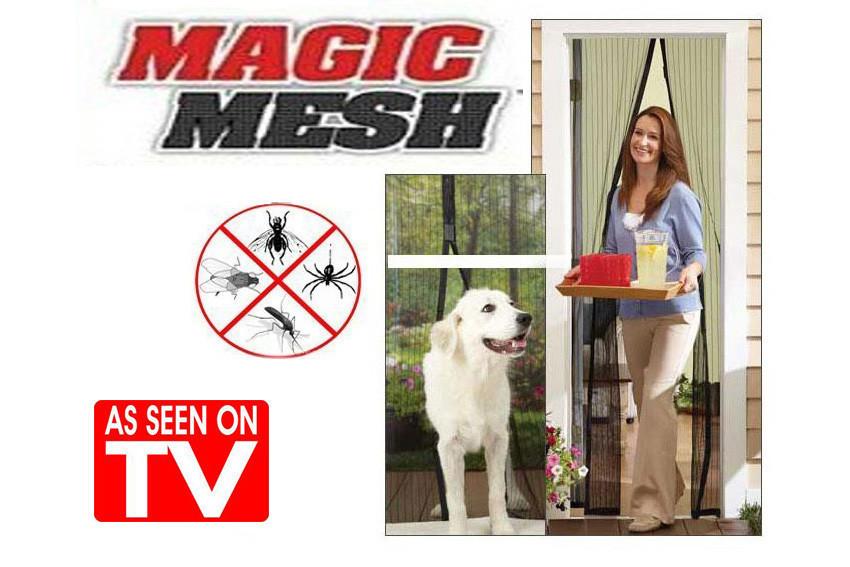 Антимоскитная сетка | Штора на магнитах  Magik mash
