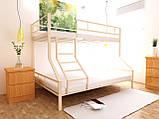 Двухъярусная кровать Тея 80х190/120х190 см ТМ MegaOpt, фото 6