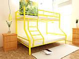Двухъярусная кровать Тея 80х190/120х190 см ТМ MegaOpt, фото 2