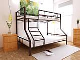 Двухъярусная кровать Тея 80х190/120х190 см ТМ MegaOpt, фото 3