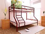 Двухъярусная кровать Тея 80х190/120х190 см ТМ MegaOpt, фото 7