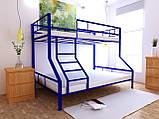 Двухъярусная кровать Тея 80х190/120х190 см ТМ MegaOpt, фото 8