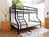 Двухъярусная кровать Тея 80х190/120х190 см ТМ MegaOpt, фото 5