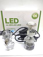 Автомобильные мини LED линзы IPHCAR G6 9/32V, 5500K, 35W