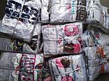Шелковая пижама Фламинго Топ на бретелях белый ( регулируются) и шортики розового цвета Шелк Армани, фото 5