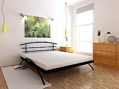 Металеве ліжко Сакура односпальне 80х190 см, ортопедична