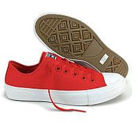Кеды Converse Style All Star 2 Красные низкие (43 р.) Тотальная распродажа
